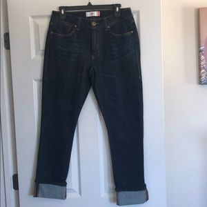 Brand new cabi size 6 high straight jeans